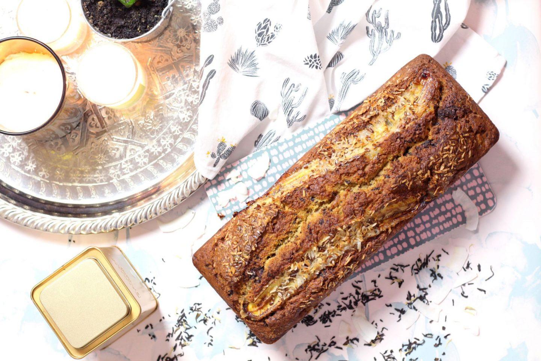 cake poire banane chocolat sans gluten