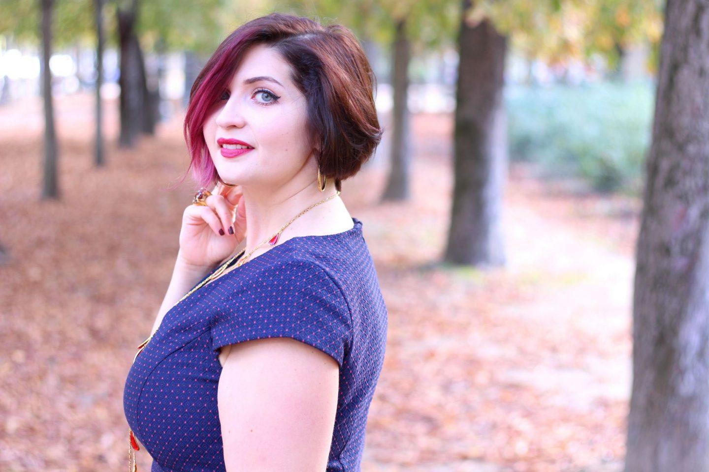 Marshmalloword look automne jardin tuileries paris
