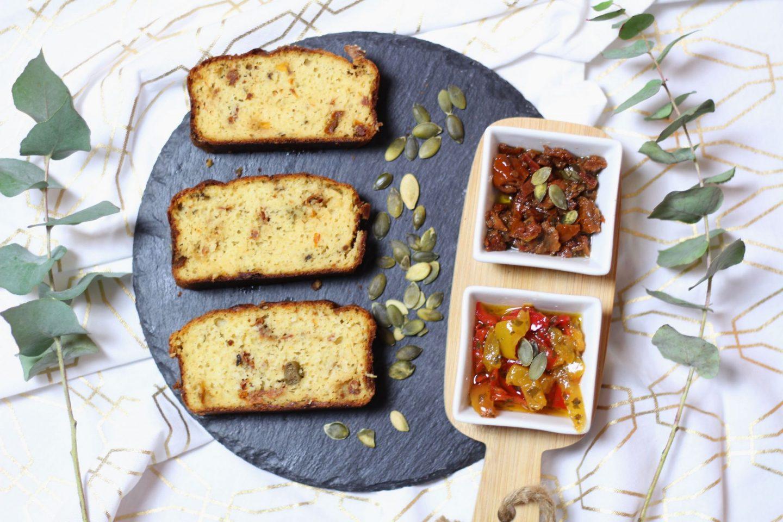 cake tomate mozzarella sans gluten