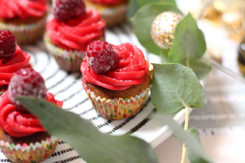 cupcake framboise amande