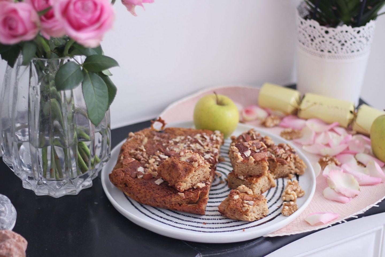 gâteau pommes amandes sans gluten