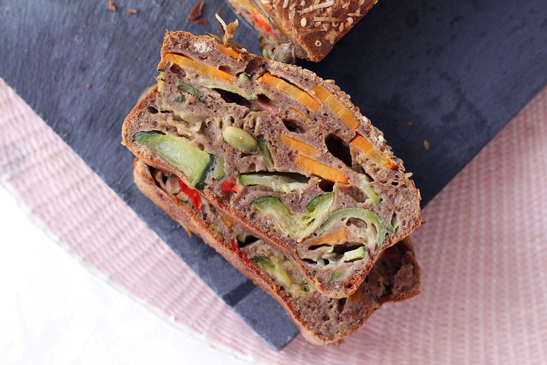 cake sarrasin légumes