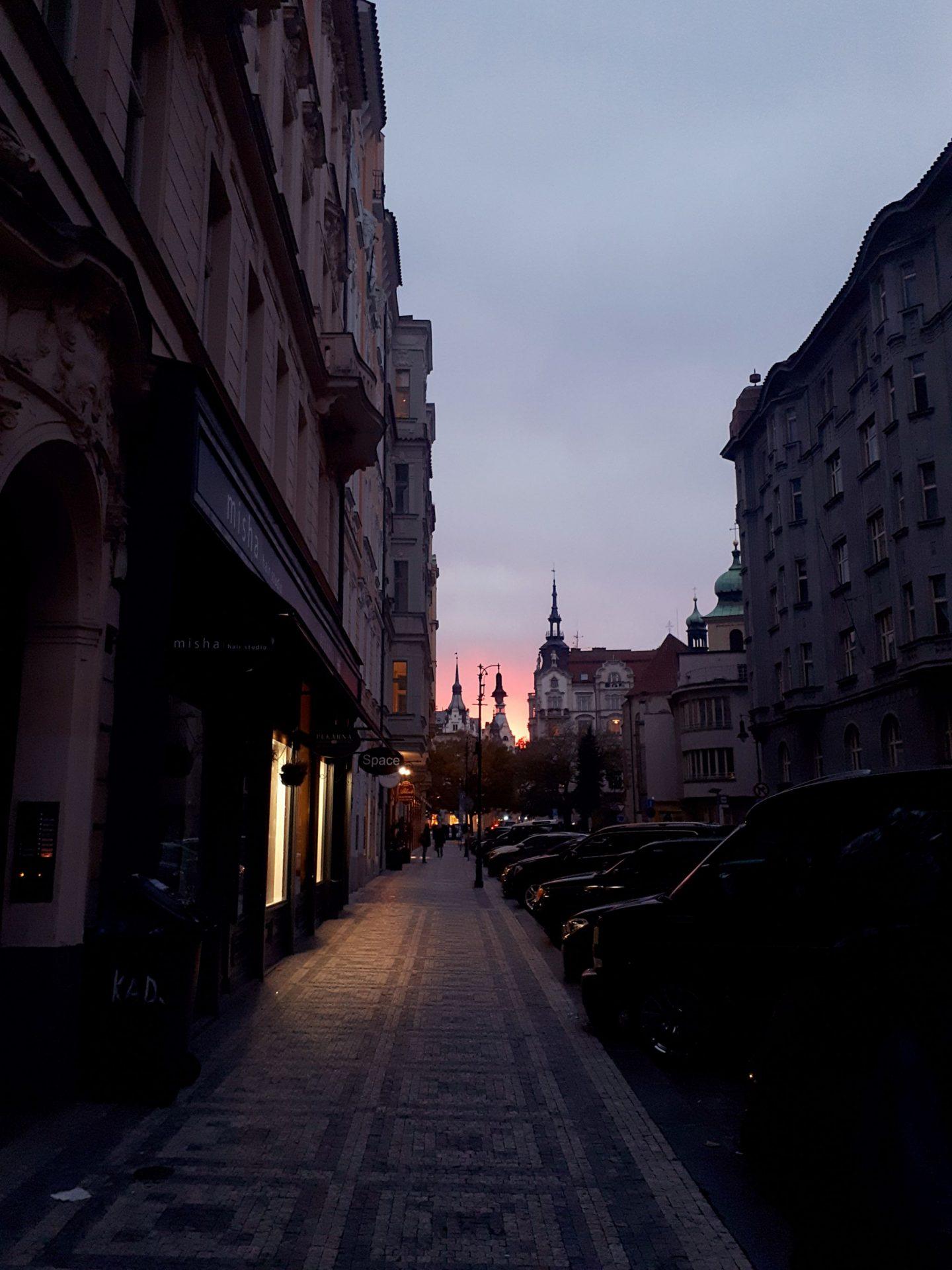 Week end Prague