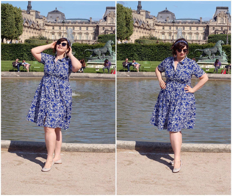 how to wear navy blue dress