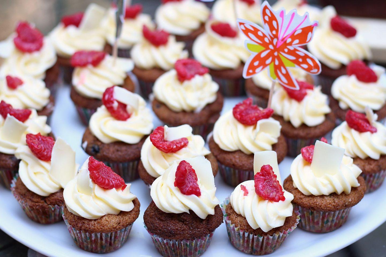 cupcakes framboise chocolat blanc