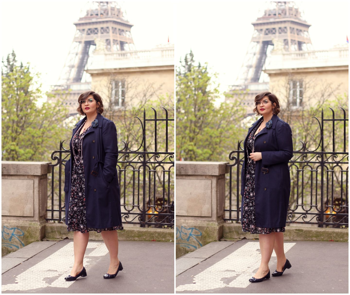 how to wear the floral dress