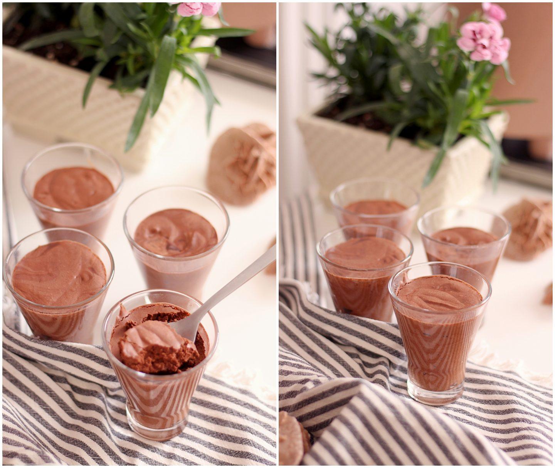 Mousse au chocolat vegan pois chiches