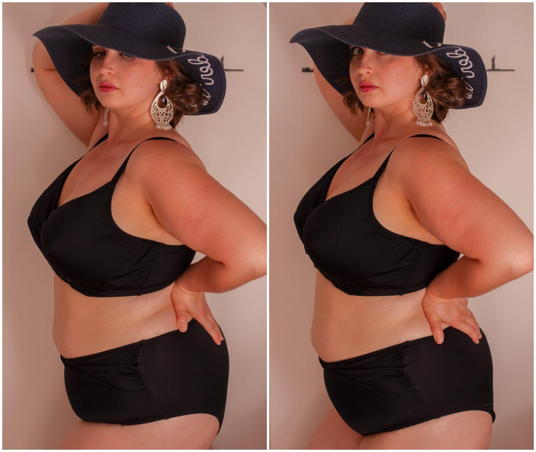 plus size bikini