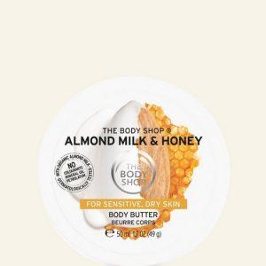 the body shop creme amande miel