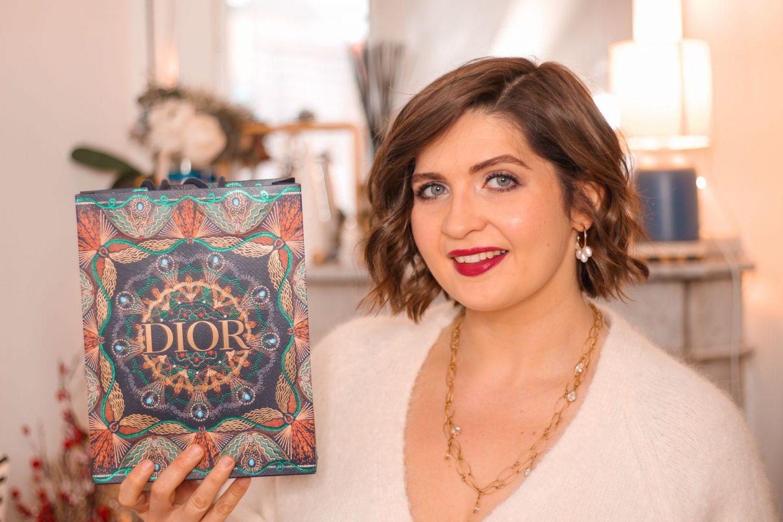 Dior Lotus Saddle Wallet