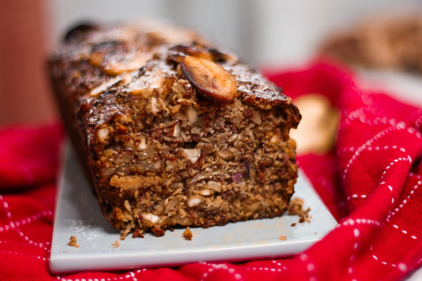banana bread in the brow