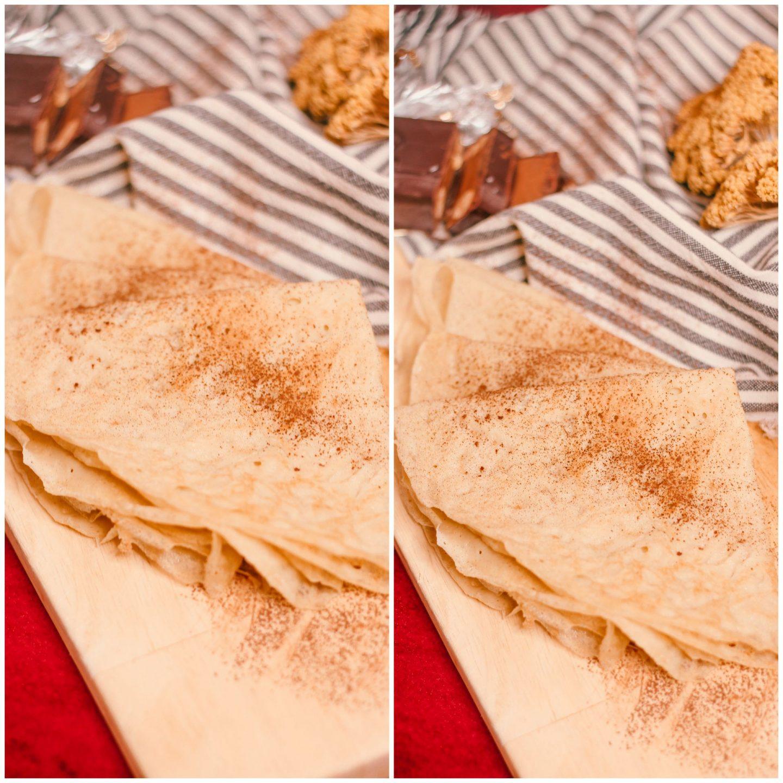 crêpes farine de riz