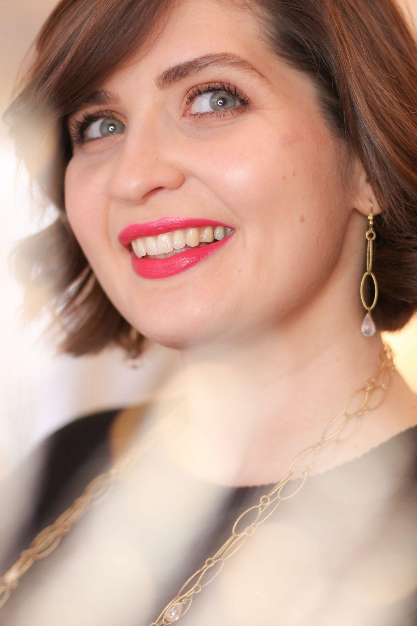 rouge à lèvres fuchsia
